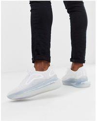 Nike Белые Кроссовки Air Max 720-белый