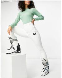 ASOS 4505 Tall Ski Skinny Ski Pants With Stirrup - White