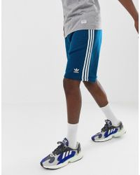 3 Azules Con Rayas Dv1525 Pantalones Cortos qUjLzMSpGV