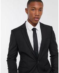 TOPMAN Skinny Suit Jacket - Black