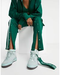 Ivy Park Adidas X Forum Mid Trainers Green Tint