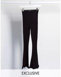 Reclaimed (vintage) Pantalón - Negro