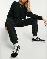 Urban Bliss Co-ord jogger Bottom - Black