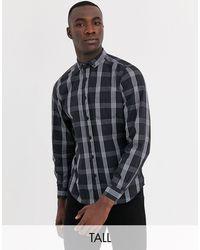 Jacamo Check Shirt - Black