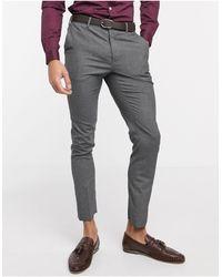 New Look Skinny Suit Trouser - Grey