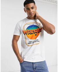Wrangler - Good times - T-shirt imprimé - Lyst