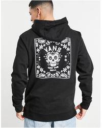 Vans Candy Skull Hoodie - Black