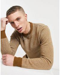 Carhartt WIP Джемпер Spooner-коричневый Цвет
