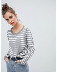 Blend She - Lina Stripe Knit Jumper - Lyst