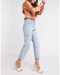 Levi's – Schmal zulaufende Jeans - Blau