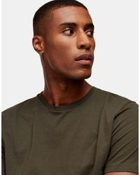TOPMAN Classic Fit T-shirt - Green