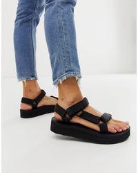 Teva Midform Universal Chunky Sandals - Black