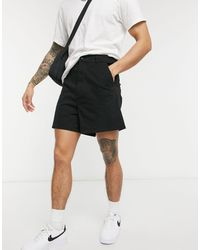 ASOS - Wide Fit High Waisted Chino Shorts - Lyst