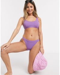 Quiksilver Bikini Bottom - Purple