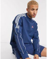 adidas Originals Темно-синий Свитшот Из Ограниченной Серии С Круглым Вырезом