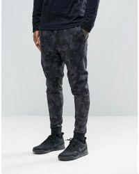 Nike Tech Fleece Skinny Joggers In Grey 823499-021 - Gray