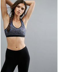ONLY - Play Printed Sports Bra - Lyst