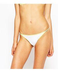 Oh My Love - Front Contrast Bikini Top - Lyst