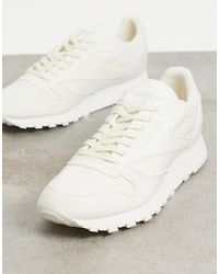 Reebok Classic Leather Non-dyed Trainers - White