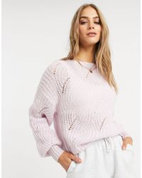 Native Youth Pull oversize - Lilas - Violet