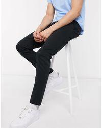 New Look Skinny Chino Pants - Black