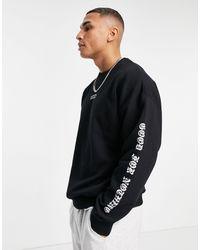 Good For Nothing Sweatshirt - Black