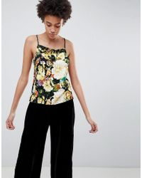 Minimum - Floral Cami Top - Lyst