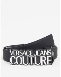 Versace Jeans Couture Ремень С Фирменной Пряжкой -черный