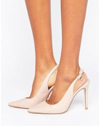 Dune - Chelsea Pointed Open Court Shoes - Lyst