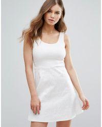 Madam Rage Madam Skater Dress - White