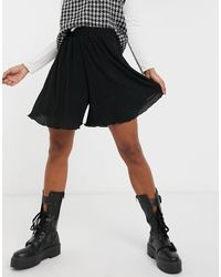 Vila Relaxed Shorts - Black