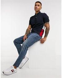 Tommy Hilfiger Insert Regular Polo Shirt-navy - Blue