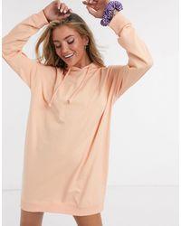 Noisy May Hoodie Dress - Multicolour