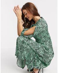 Closet Midi Dress - Green