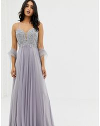Forever Unique - Tulle Layer Maxidress - Lyst