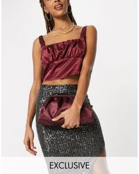 Glamorous Exclusive Slouchy Pillow Bag - Red
