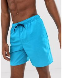 ASOS Swim Shorts - Blue