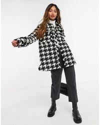 """Y.A.S Oversized Куртка-рубашка С Принтом """"гусиная Лапка"""" -многоцветный"""