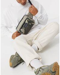 Armani Exchange Сумка-кошелек На Пояс Цвета Хаки С Камуфляжным Принтом -зеленый
