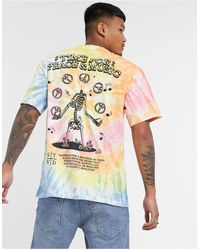 Pull&Bear Tie Dye T-shirt - Multicolor