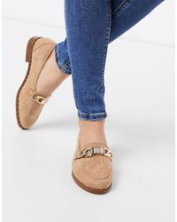 River Island Studded Buckle Loafers - Multicolor