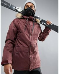 Volcom - Midtown Insulated Ski Coat - Lyst