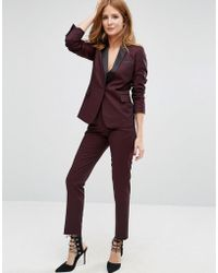 Millie Mackintosh - High Waisted Cigarette Trousers - Lyst