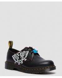 Dr. Martens Zapatos negros con 3 ojales 1461