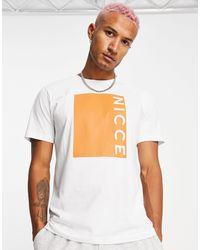 Nicce London Camiseta blanca con estampado - Blanco