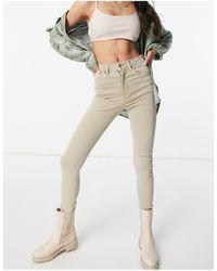 TOPSHOP Jamie - Jeans - Naturel