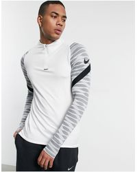 Nike Football Strike Drill Top - White