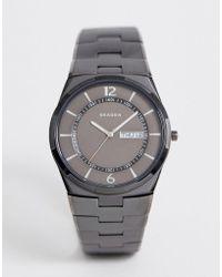 Skagen SKW6504 Melbye - Montre-bracelet 40 mm - Gris