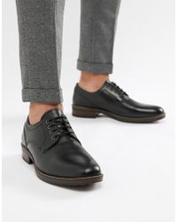cheaper ed839 85537 Rokin Roy Leather Oxford Shoes in Black for Men - Lyst