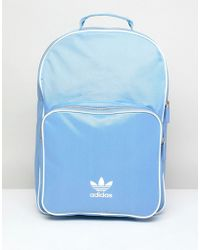 adidas Originals - Adicolor Backpack In Blue Cw0631 - Lyst
